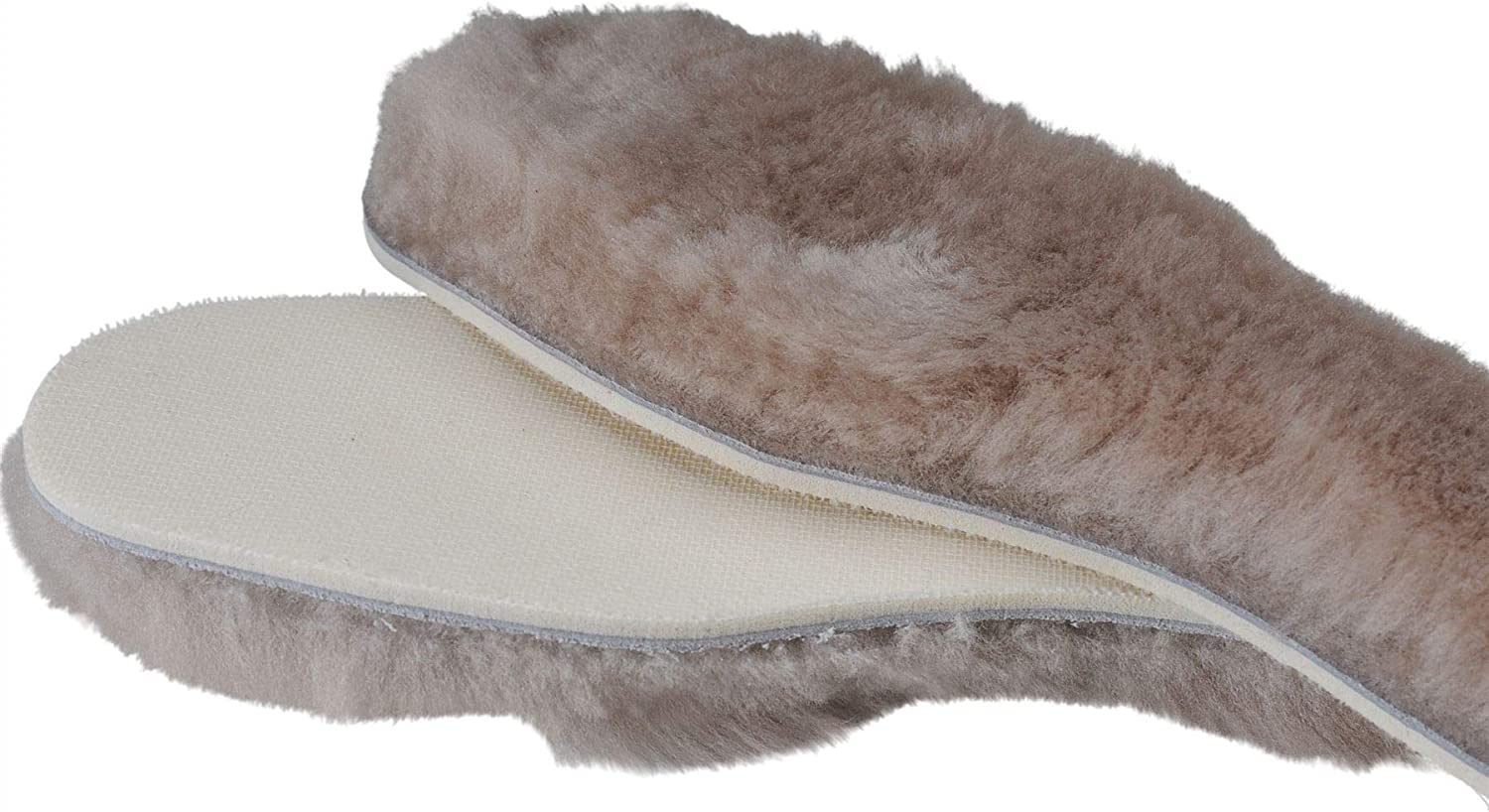 Nordvek Thick Sheepskin /& Lambswool Shoe Insoles Pads Boots Boot Inner Soles