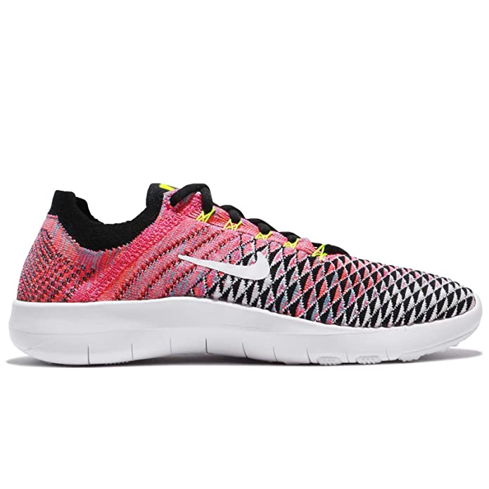 ba275217386c8 Nike Womens Free TR Flyknit 2 Lightweight Running Shoes Pink 7.5 Medium  (B,M)
