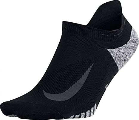 2be2ed44b16 Image Unavailable. Image not available for. Color  Nike Unisex NikeGrip Elite  Lightweight No Show Running Socks ...
