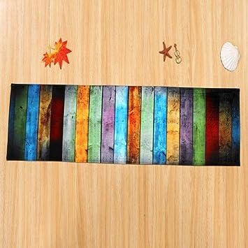 Non Slip Soft Bereich Teppich Schlafzimmer Esszimmer Teppich Boden Tür  Matte (Mehrfarbi, 60 X