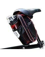 c0bf0de6df3 Selighting Bolsa de Sillin Bicicleta, Bolsa Bicicleta Montaña Alforja Bolsa  Trasera Bicicleta Impermeable con Compartimento