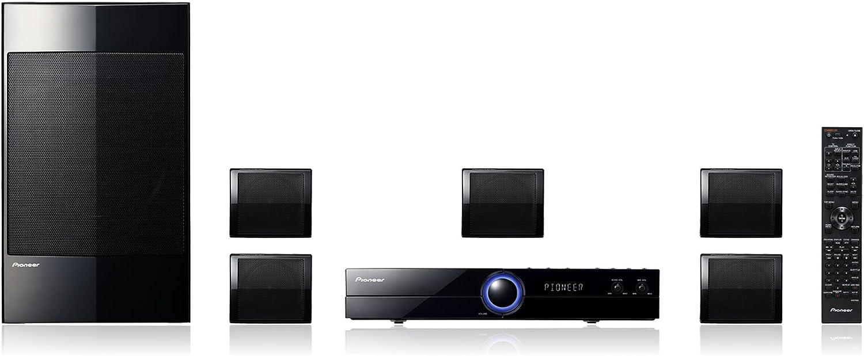 Pioneer DCS222K - Equipo de Home Cinema 5.1 con DVD, conexión SCART Y HDMI a 1080p, .Cd A Usb Ripping (X2)Funcion De Karaoke.Entrada Mini-Jack Frontal P: Amazon.es: Electrónica