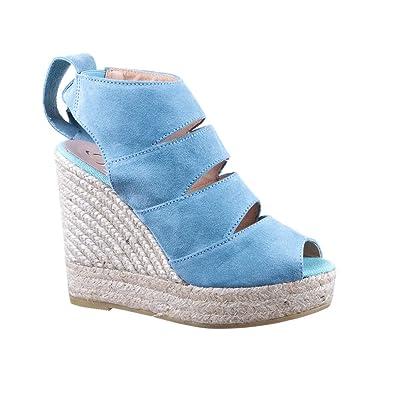 Kanna 19KV8141 - Zapatillas de Baloncesto, Color Azul: Amazon.es ...
