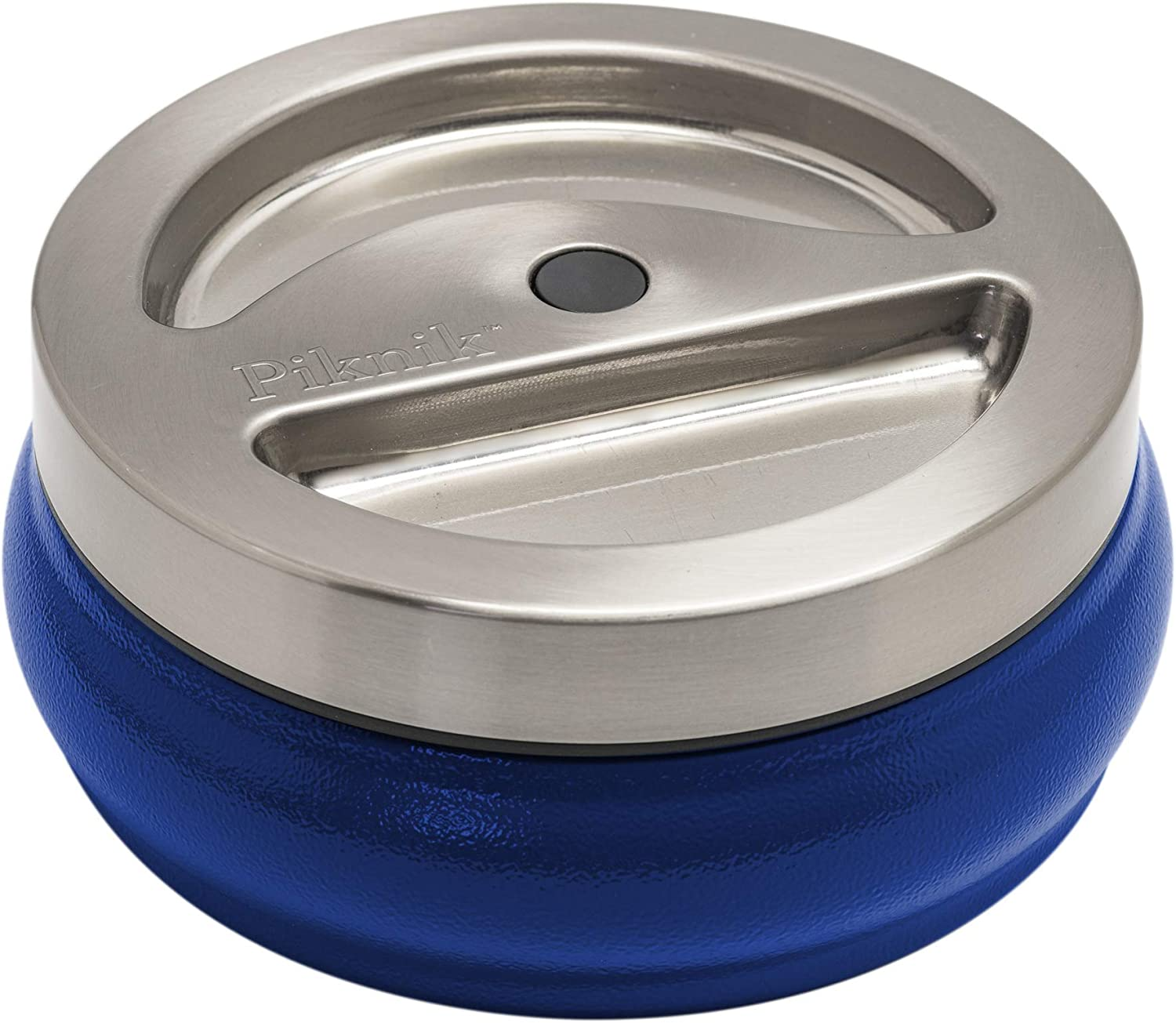 Piknik 28 oz Thermally Insulated Food Container - Stainless Steel - On The Go - Leak Proof (Blue)