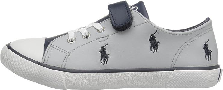 Polo Ralph Lauren - Zapatillas para niño Gris y Azul Marino ...