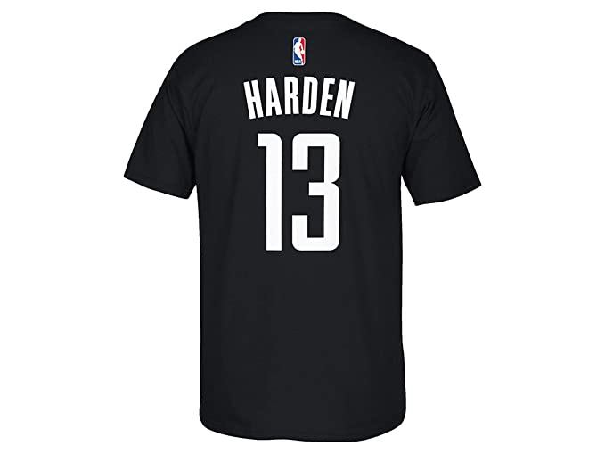 new arrival 45dd1 2d817 Amazon.com: adidas Houston Rockets NBA James Harden Gametime ...