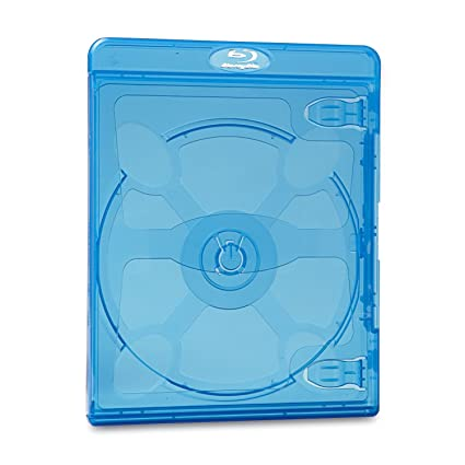 Verbatim Blu Ray Dvd Blue Cases Pk