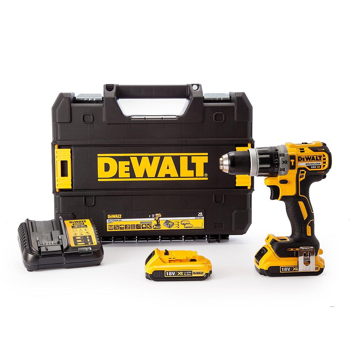 Dewalt DCD796P1 Combi Drill 18V XR Brushless Compact Li