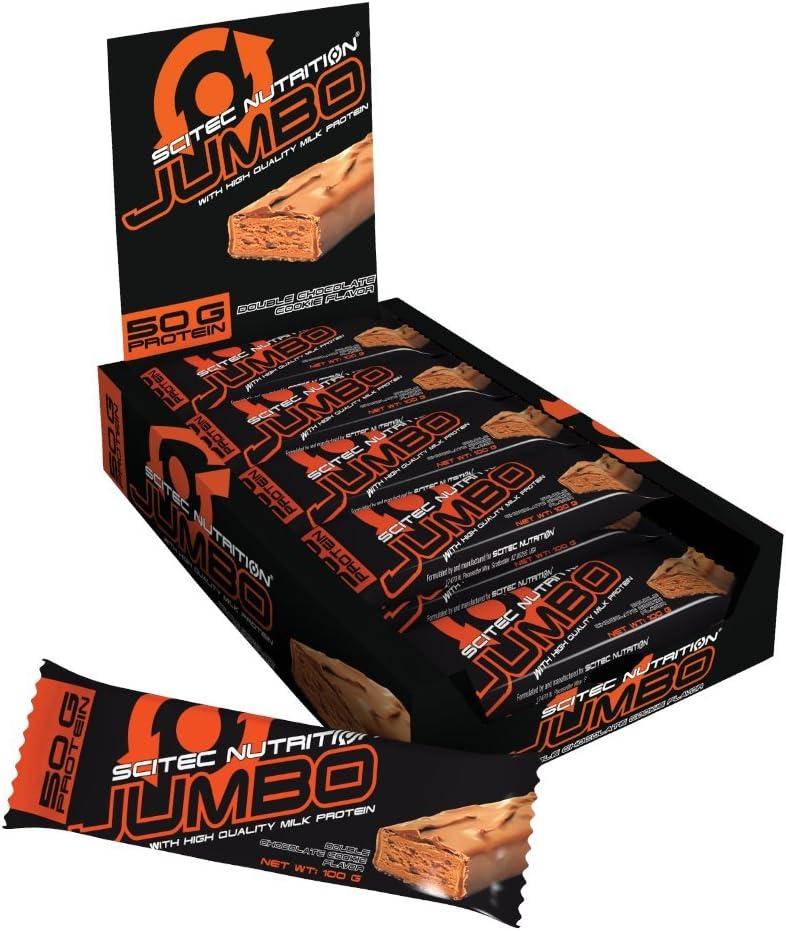 Scitec Jumbo Bar Barritas Energéticas Con Sabor A Chocolate - 15 Unidades