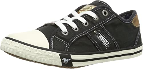 MUSTANG Damen Low Sneaker Beige