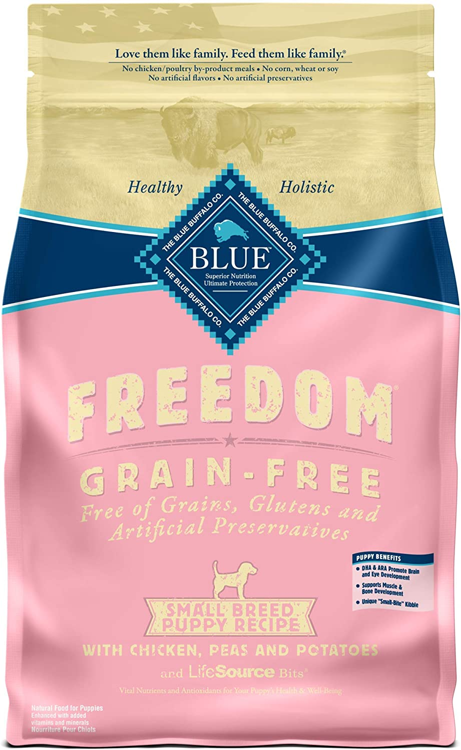 Blue Buffalo — Freedom Small Breed Dry Dog Food for Puppies
