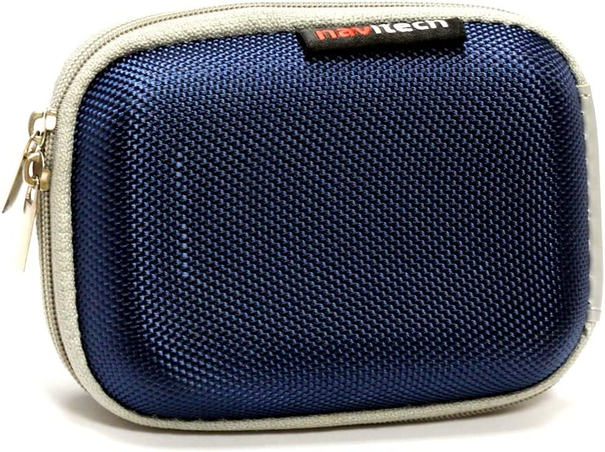 Hero 3 Hero HD Navitech Blue Water Resistant Hard Digital Camera Case Cover Compatible with The GoPro Hero 2
