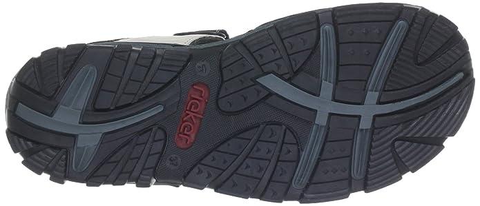 c55edc3c1eb54e Rieker Damen 68851 Offene Sandalen mit Keilabsatz  Rieker  Amazon.de  Schuhe    Handtaschen