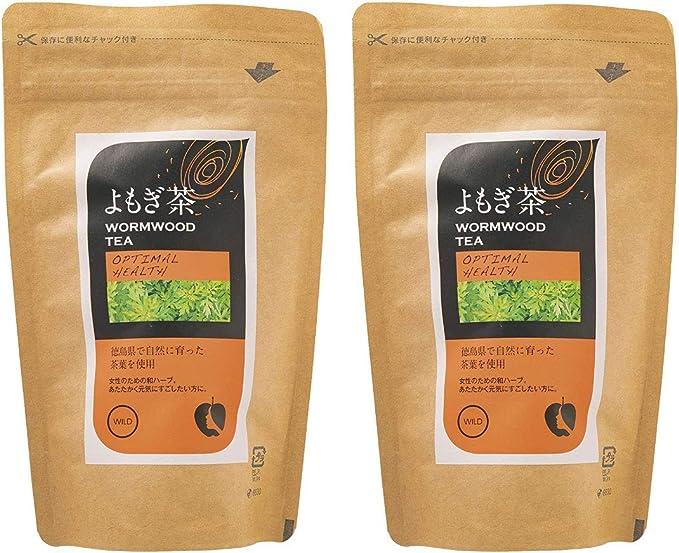 [ナチュラルハウス] よもぎ茶 60g (2gx30袋)×2袋 オーガニック 徳島県産よもぎを使用