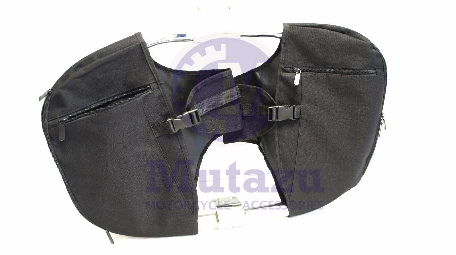 Mutazu Soft Lowers Chaps Leg Warmer for Harley Touring Model OEM Engine Guard by Mutazu