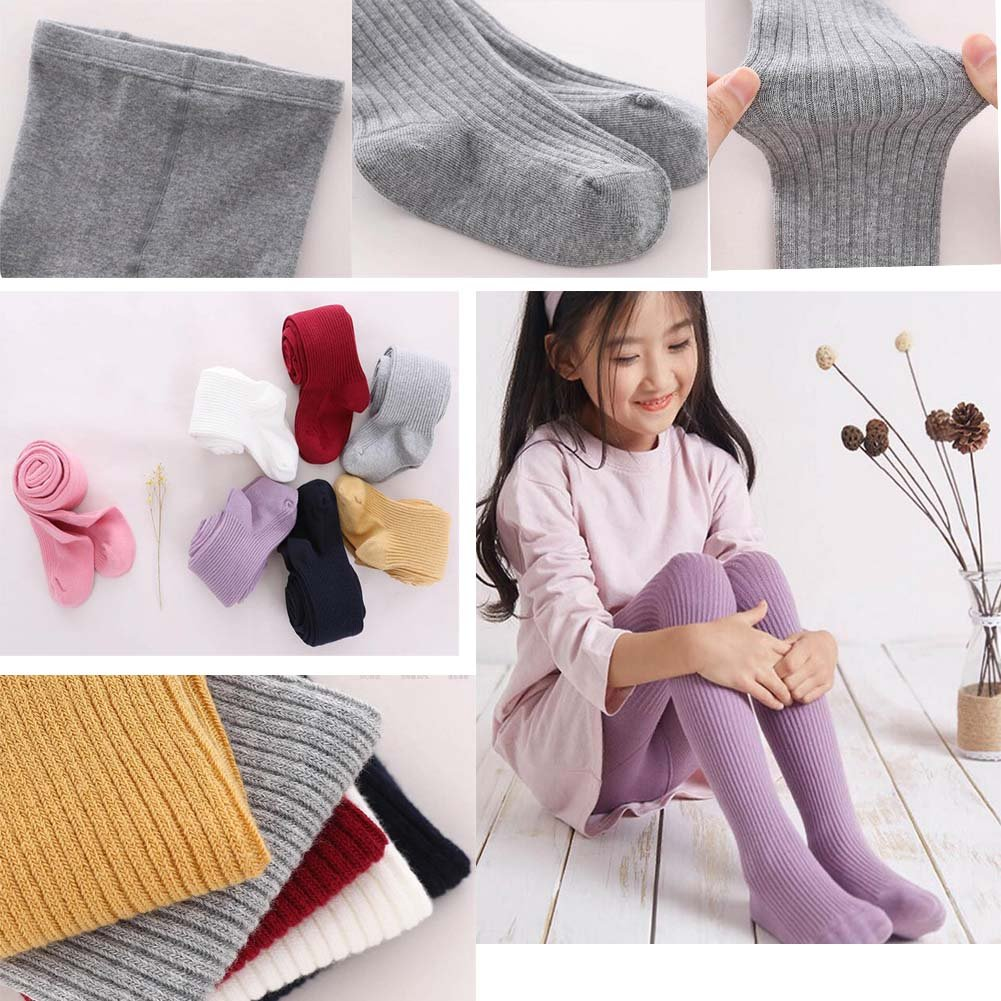 DRAGON SONIC Cotton Girl Tights Kids Pantyhose Pink Girl Stockings Winter Tights