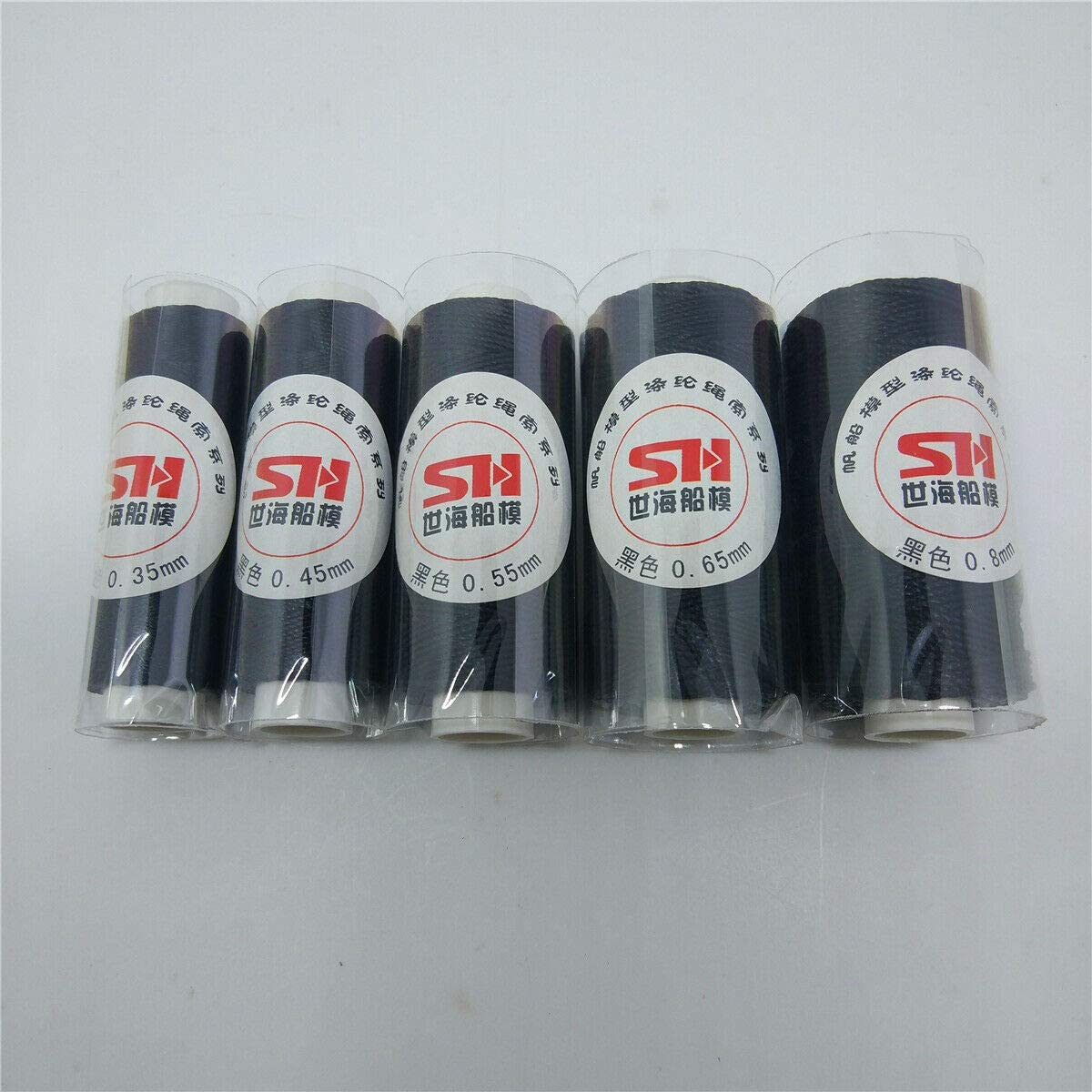 Rigging Threads for model ship making Choice of Colour//Size 50M Black,0.65mm