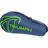 Triumph Pro-302 (New) Single Compartment Badminton Bag (Navy/Lime) - 6 Racquet