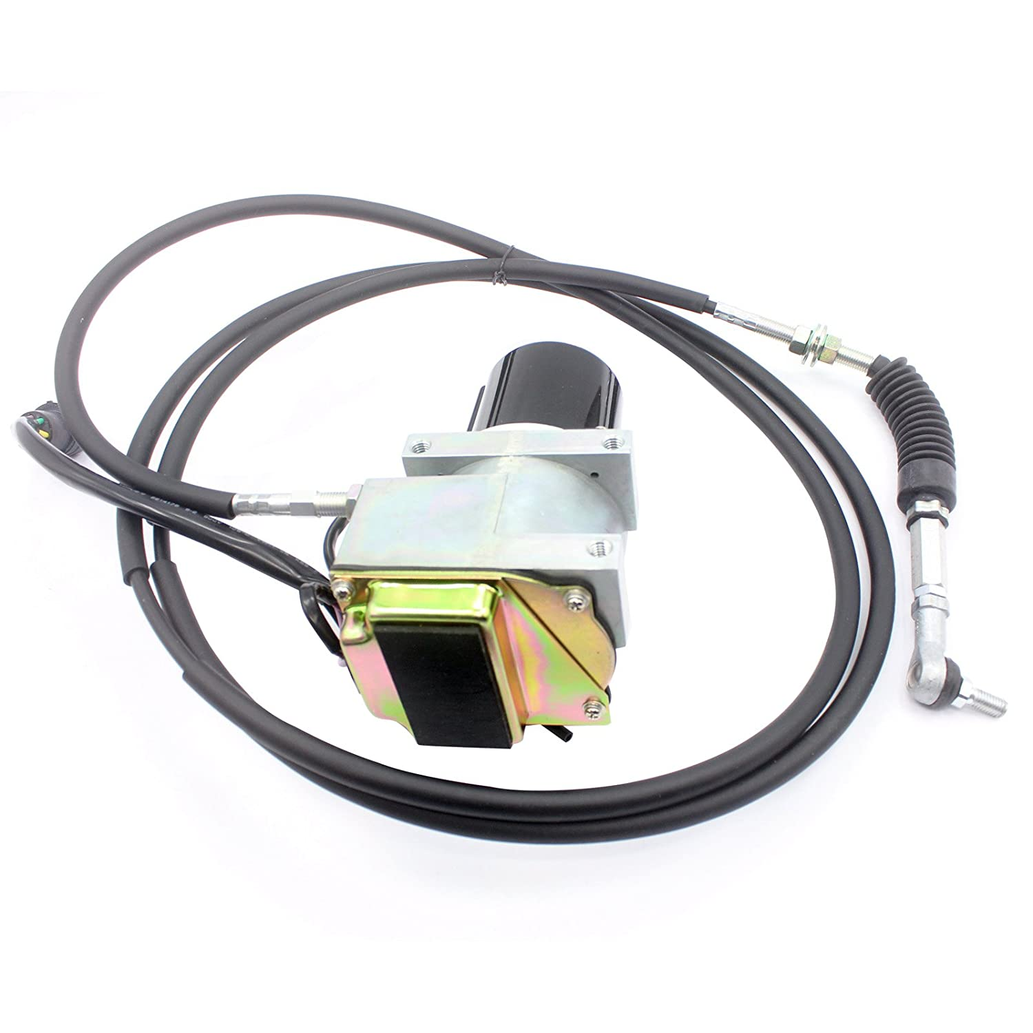 7Y-5571 7Y5571 Round Throttle Motor with Single Cable for E330L 330L Excavator Parts 6 Month Warranty