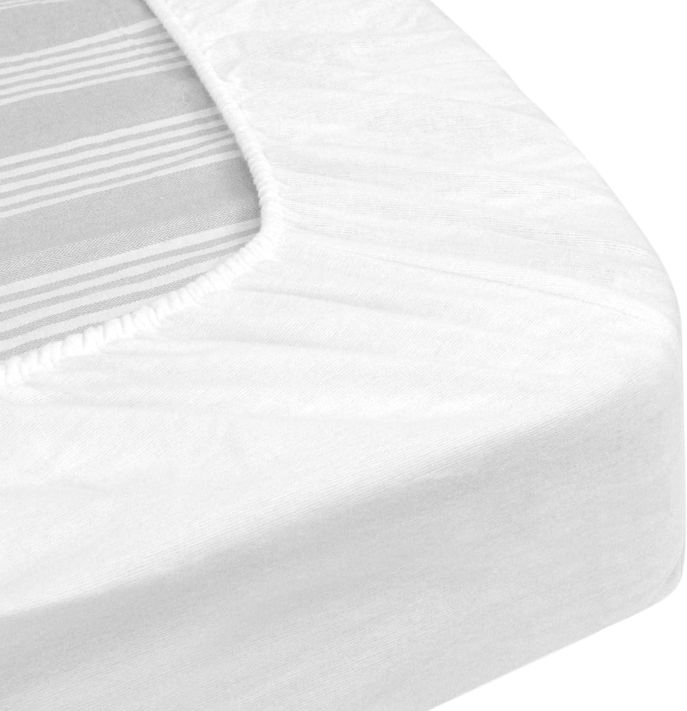 Bianco 90x210 Coprimaterasso Impermeabile Arnaud