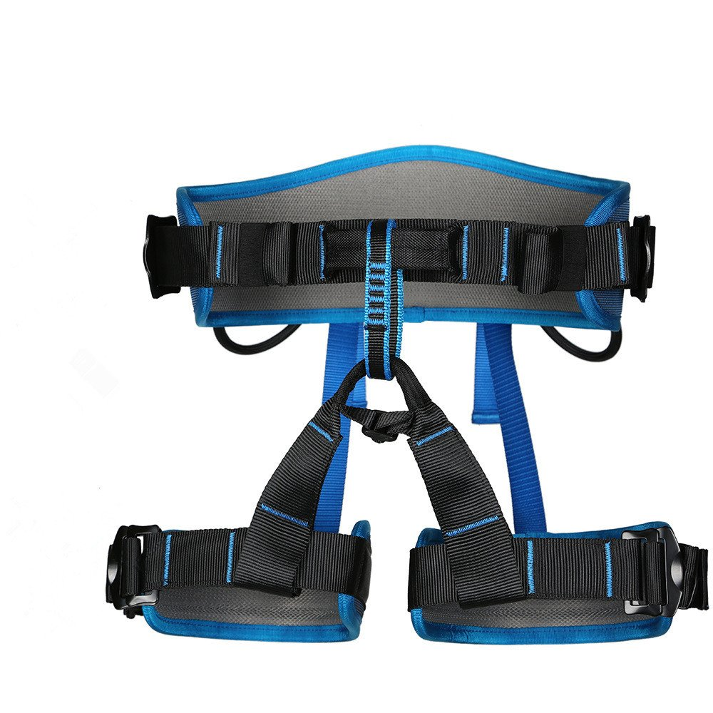 UBaymax Harnais de sécurité, Baudrier d'escalade Harnais de Protection pour Moitié Corde de Escalade Professionnel Descente en Rappel de Haut Niveau Spéléo Escalade l'équipement