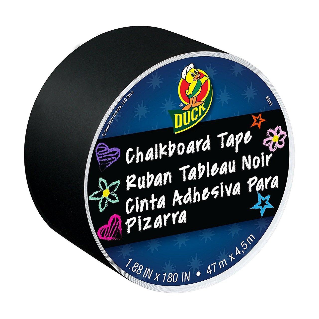 Bulk Chalkboard Tape Black, 1.88