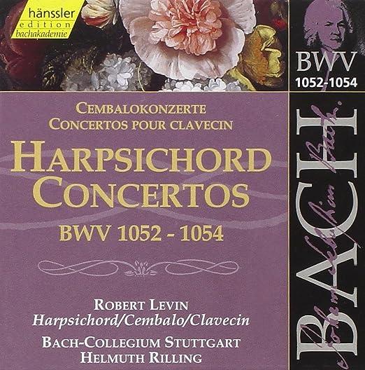 Bach: Harpsichord Concertos BWV 1052 - 1054: Robert Levin, Johann Sebastian Bach: Amazon.es: Música