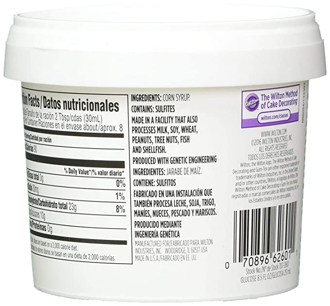 Amazon.com : Wilton 707-2601 Glucose Syrup (2 Pack ...