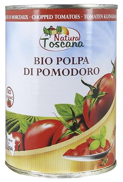 Probios Natura Toscana Tomates en Trozos - 12 Estanos