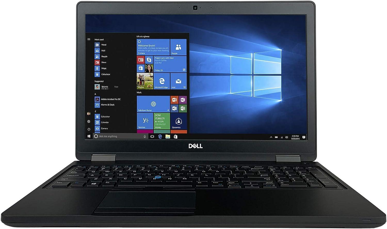 "Dell Latitude 15 5000 Series 5580 15.6"" Laptop - 7th Gen Intel Core i5-7200U Processor up to 3.10 GHz, 16GB Memory, 512GB SSD, Intel HD Graphics 620, Windows 10 Pro (Renewed)"