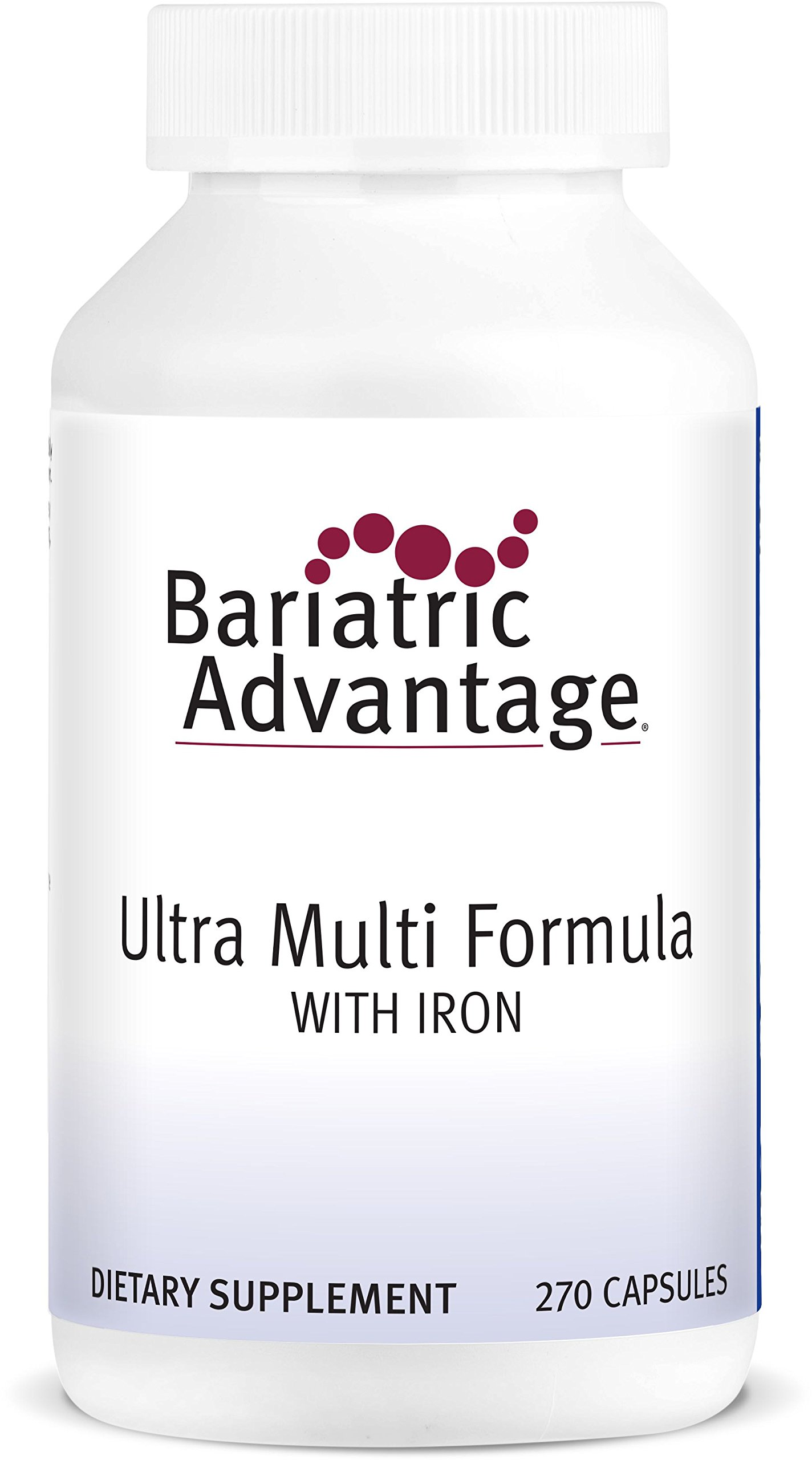 Bariatric Advantage - Ultra Multi Formula with Iron, 270 Count