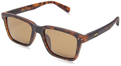 298bd5770a Image Unavailable. Local Supply Men s COAST Polarized Sunglasses - Dark  Brown Tint Lens