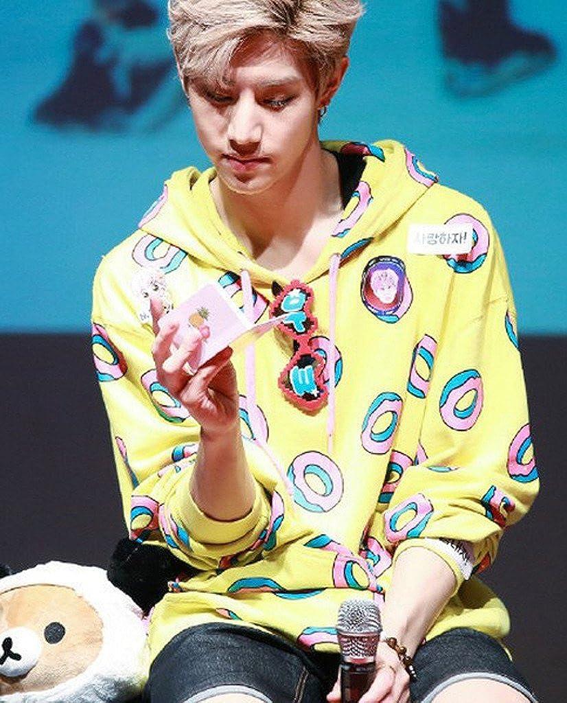 41946e916bea GOT7 Mark Cap Hoodie Cute Donut Unisex Sweatershirt at Amazon Women s  Clothing store