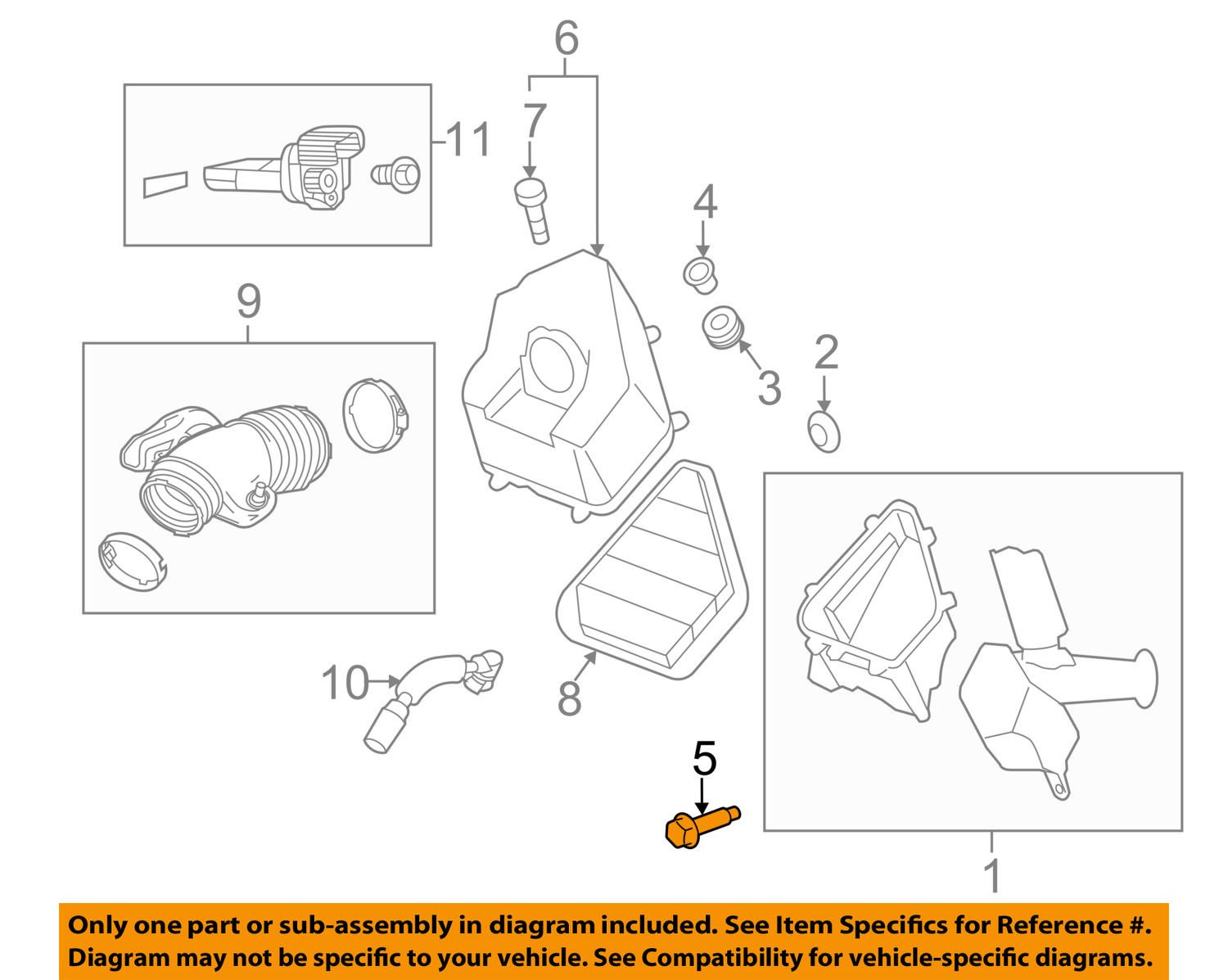 Genuine GM Bolt Part# - 11570295 General Motors