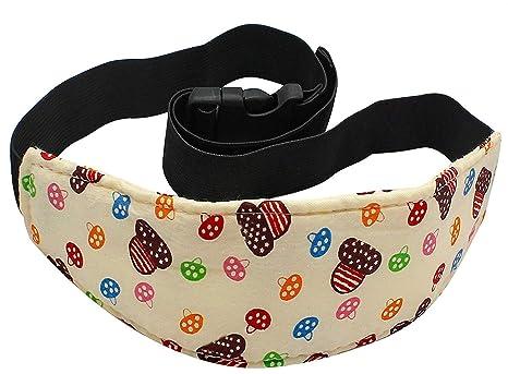 LUCKLYSTAR® Soporte Cabeza Bebés Fijación de la Correa Sujeta Banda para Cabeza Cinturón de Seguridad