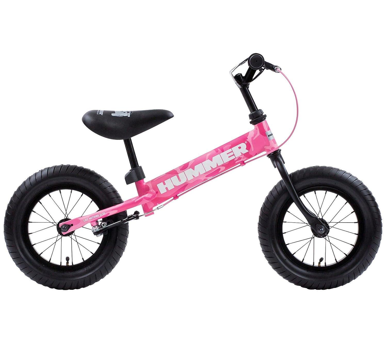 HUMMER(ハマー) TRAINEE BIKE 12.5インチ 幼児/子供用トレーニングキックバイク 【専用スタンド付き】 安定のある極太タイヤ搭載 後輪ブレーキ付 13028 B077M7HZ4X カモフラージュピンク カモフラージュピンク