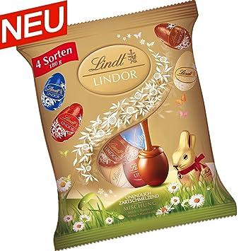 Lindt Lindor - Huevos de chocolate, 180 g