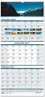 product image for HOD3638 - House Of Doolittle Scenic Landscapes Three-Months/Page Wall Calendar