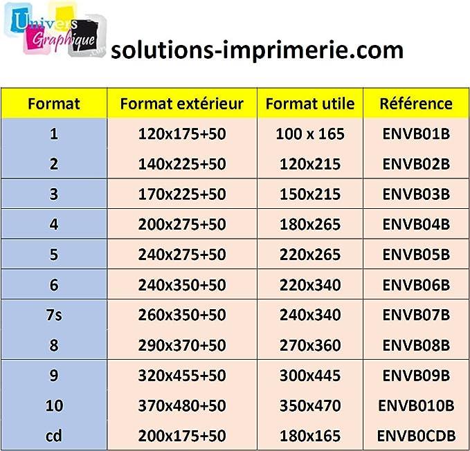 ext. 240x275 Lot 100 Enveloppes à bulles pochettes Blanches ECO 220x265 mm 5//E