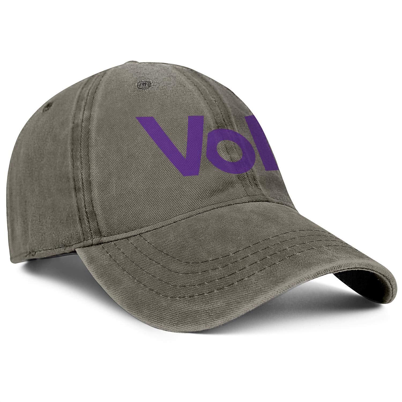 Men Women Hat Volt-Logo Snapback Hats Cool Denim Cap Print Caps
