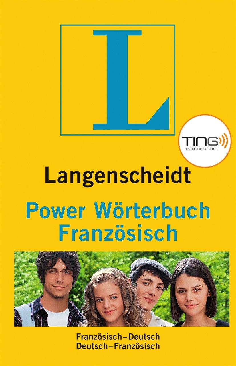 Langenscheidt Power Wörterbuch Französisch TING - Buch (Ting-Ausgabe): Französisch-Deutsch/Deutsch-Französisch (Langenscheidt Power Wörterbücher)