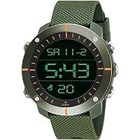 Eddy Hager 800 Digital Army Green Sports Watch - for Men