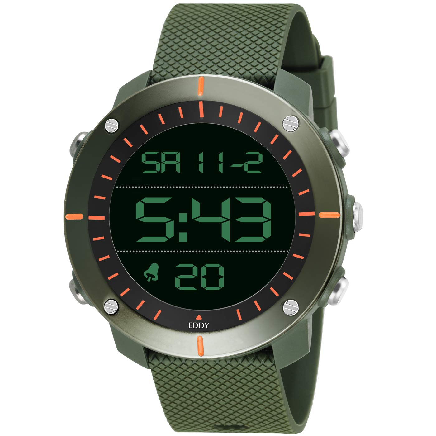 Eddy Hager Digital Army Sports Watch - for Men EH-800 product image