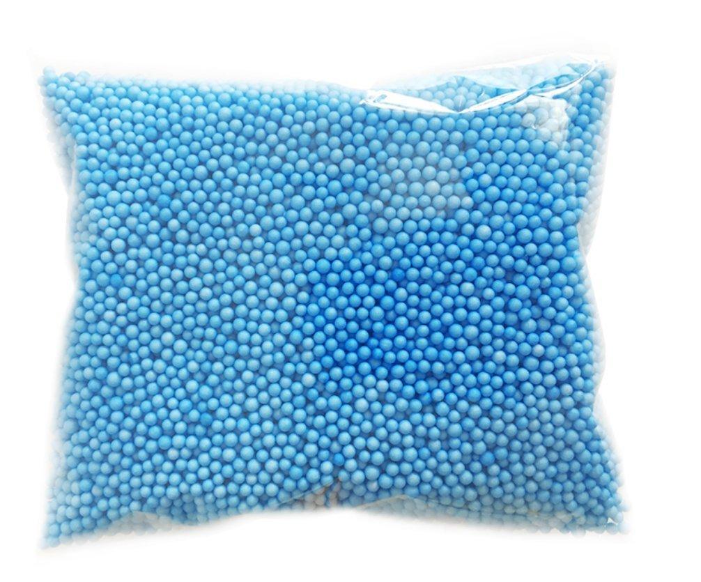 Westeng 14000PCS Slime Foam Beads Craft Foam balls 0.10–0,4cm palline decorative Styrofoam Foam Arts DIY Supplies for Homemade Craft Slime, da bambino, decorazione per festa di nozze blu 1pezzi