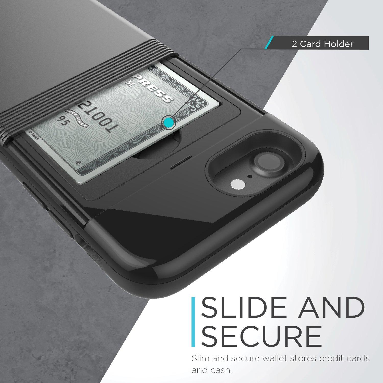 iphone 7 case x doria stash series hard shell