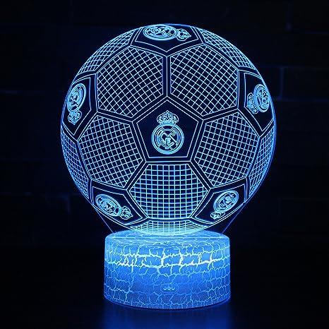 3D Lámpara de Escritorio Win-Y LED 7 del tacto del color de la ...