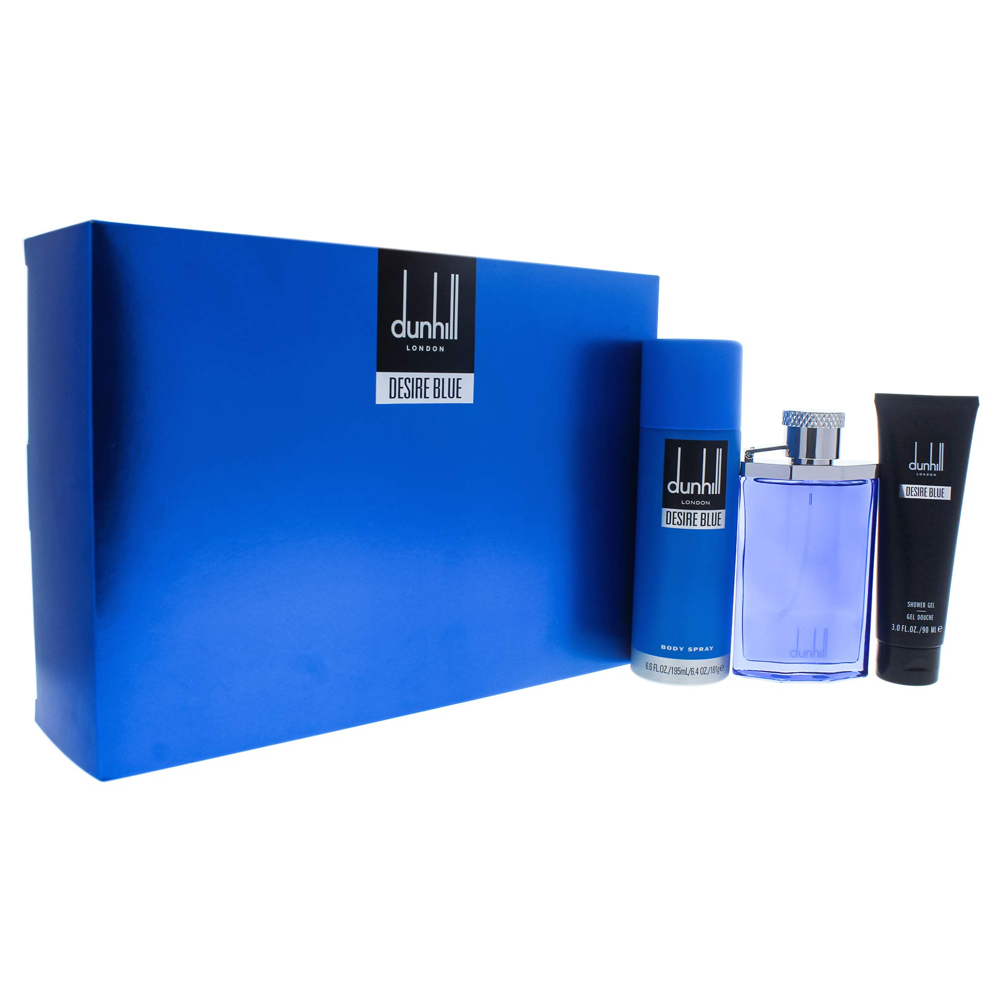 Alfred Sung Desire Blue London 3 pc Gift Set for Men