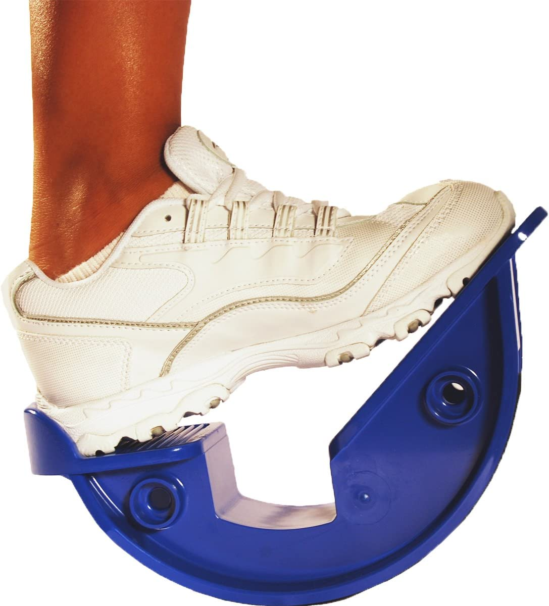 "ProStretch ""Blue"" - The Original Calf Stretcher & Foot Rocker for Plantar Fasciitis, Achilles Tendonitis & Tight Calf Pain (Slip Resistant Bottom)"