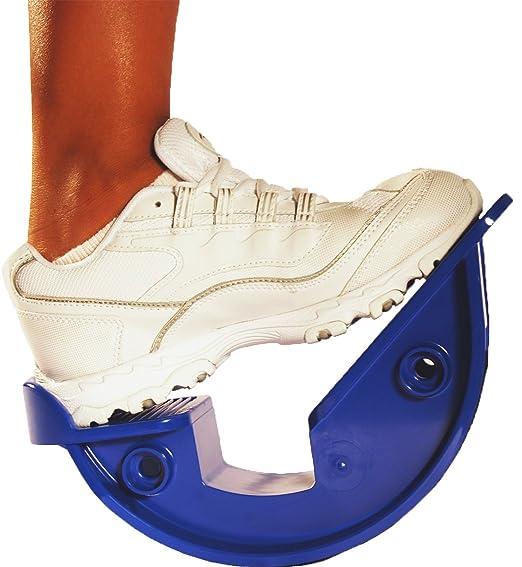 "ProStretch ""Blue"" - The Original Calf Stretcher & Foot Rocker for Plantar Fasciitis, Achilles Tendonitis & Tight Calf Pain (Slip Resistant Bottom) best plantar fasciitis remedies"