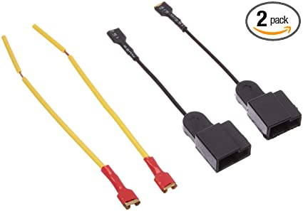 Wondrous Amazon Com Uxcell 2Pcs Plastic Car Horn Speaker Adapter Wiring Wiring 101 Capemaxxcnl